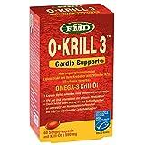 Krillöl nach Udo Erasmus | 60 Kapseln | Mit Omega-3 Fettsäuren EPA und DHA & Cholin | Leicht verdaulich & verwertbar | Kein unangenehmes Aufstoßen | MSC-zertifiziert