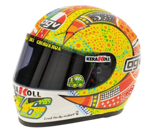 AGV Valentino Rossi MotoGP 2007 Phillip Islandia 2007 Casco