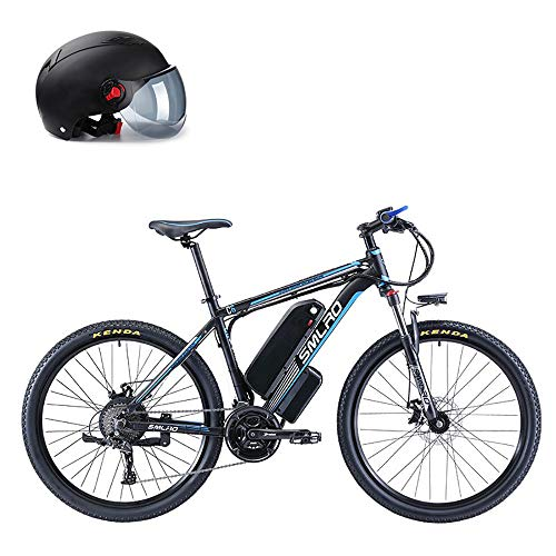 Pc-Glq 500W Montaña Bicicleta Eléctrica De 48V para Hombre De 26 Pulgadas De Nieve De La Montaña E-Bici, Bicicleta Eléctrica 27 Speed Gear Y Tres Modos De Trabajo,13A