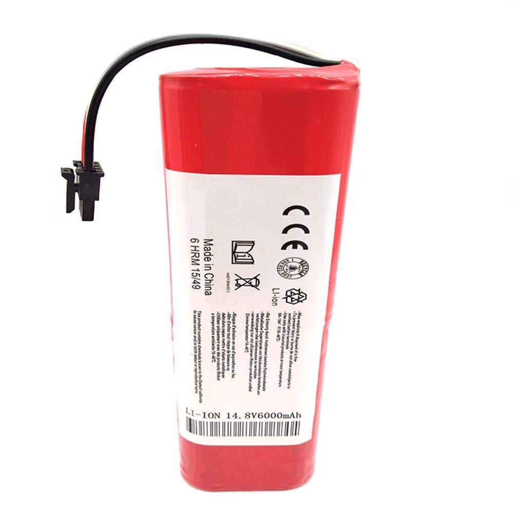 Beatie batería para Xiaomi Mi Aspirador 6000 mAh Li-Ion 18650 batería para Xiaomi Robot Aspirador roborock S50 S51: Amazon.es: Hogar