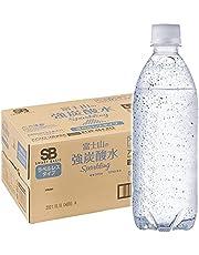 [Amazon限定ブランド]Smart Basic(スマートベーシック) 炭酸水 ラベルレス 500ml ×24本 富士山の強炭酸水