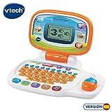 VTech Pequeordenador, Juguete para aprender en casa, ordenador infantil con más de 20 actividades que enseñan letras, números, animales, lógica y música (80-155422)