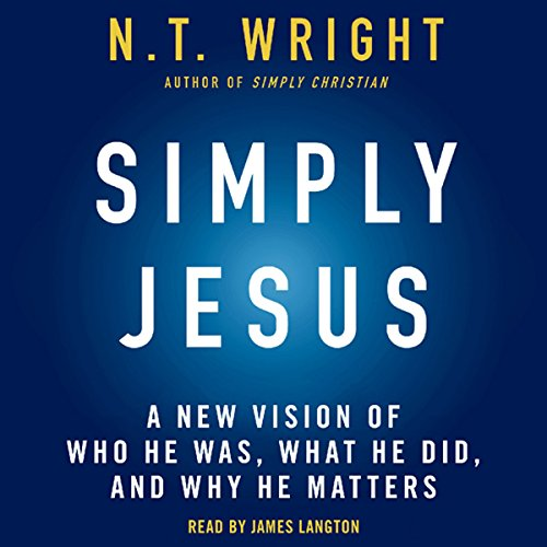 Simply Jesus audiobook cover art