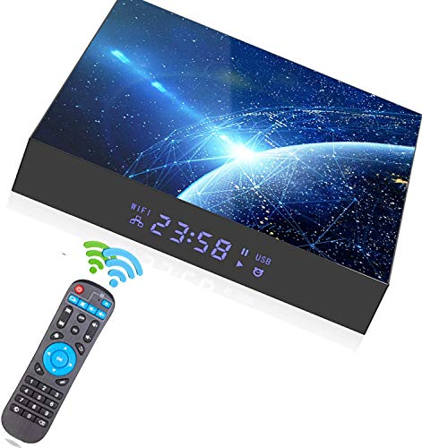 (2021 )Upgrade] Android 10.0 TV Box, Android Box 4Allwinner H616 Quad-core Smart , Streaming Media Player Support 2.4G/5.0G Dual WiFi 6K Utral HD / 3D / H.265 with Bluetooth 5.0