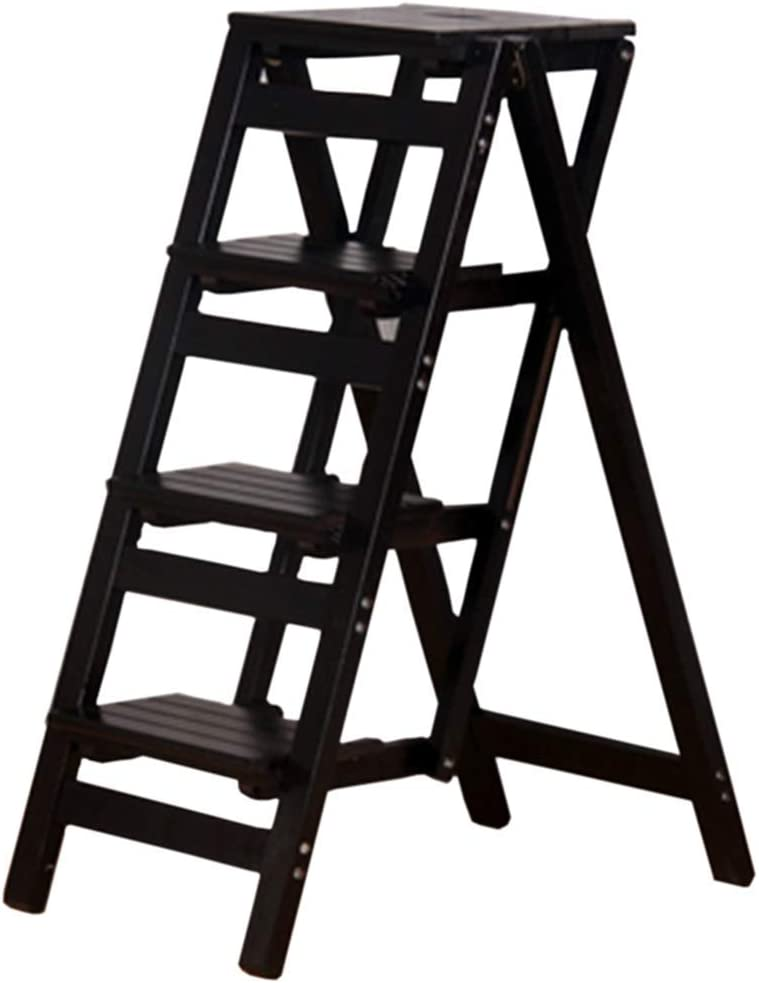 ZRABCD Free shipping on posting reviews Ladders Telescopic Ladder gift Portable Collapsible Stool Step