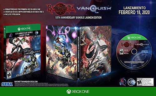 Bayonetta & Vanquish 10th Anniversary Bundle – Bundle Edition – Xbox One (Day 1 Edition)