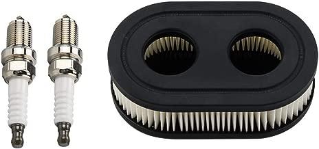 Kuupo 593260 798452 Air Filter with Spark Plug for Briggs & Stratton 550E Thru 725EXI Series Engine MTD Craftsman Troy bilt TB110 TB115 TB200 TB230 TB330 TB370 Lawn Mower Air Cleaner