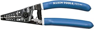Klein Tools 11054 Wire Stripper and Cutter for 8-16 AWG Solid and 10-18 AWG Stranded Wire with Closing Lock