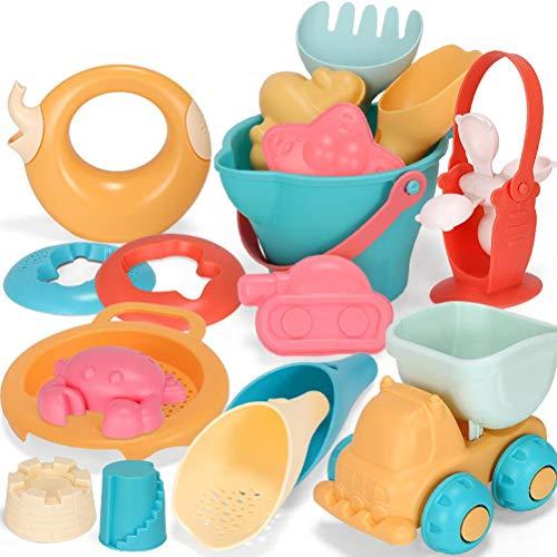 spier Juguete de playa de arena, juguete de playa de arena para niños, juego de agua y juego de juguetes divertidos para niños y niñas