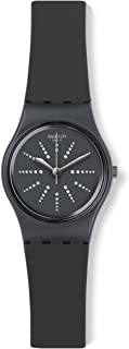 Swatch lm141 Ladies Chesera Grey Silicone Strap Watch