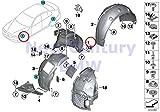 BMW Genuine Wheelarch Trim Front Right Cover For Wheelhousing 428i 428iX 435i 435iX 428i 428iX 435i 435iX