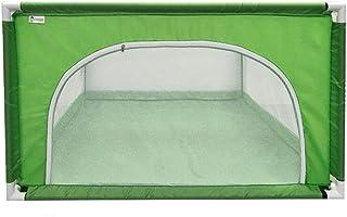 Playpen KidsアクティビティセンターPlayyard、幼児用/新生児用/幼児用安全クロッシングセーフティゲームフェンス、120×120×68cm (色 : Green)