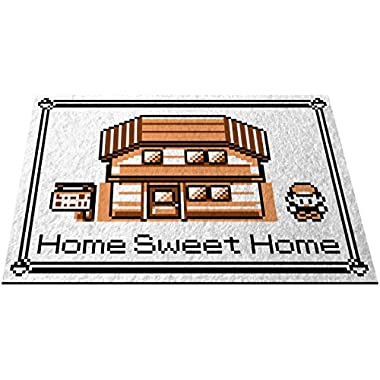 RetroArtDecor Door Mats Welcome Floormat, Sepia