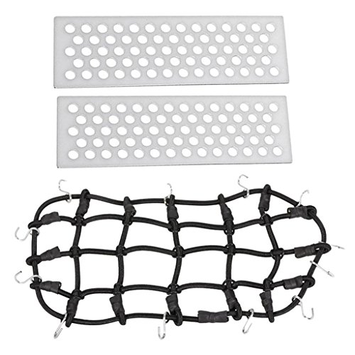 chiwanji 1/10 Elastic Luggage Net Luggage Net Deco Accesorio para RC Car
