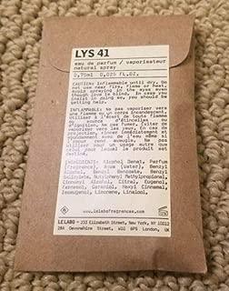 Le Labo Lys 41 Eau De Parfum .025 oz (1 Bottle)