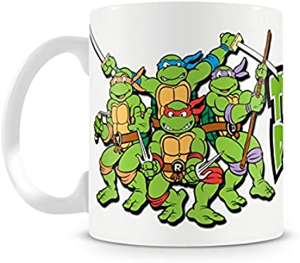 Preisvergleich für Offizielles Lizenzprodukt Turtle Power Kaffeetasse, Kaffeebecher