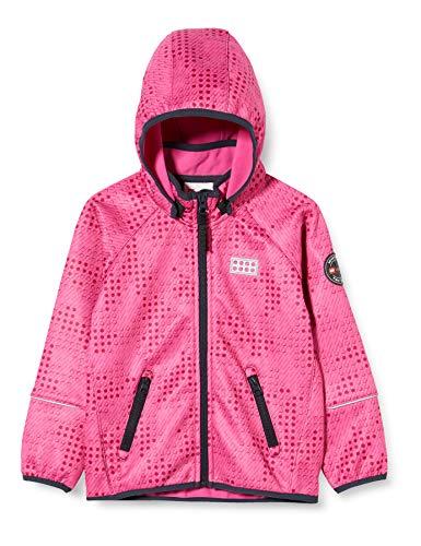 Lego Wear Mädchen Lwsam Softshelljacke Jacke, Rosa (Pink 456), (Herstellergröße:98)