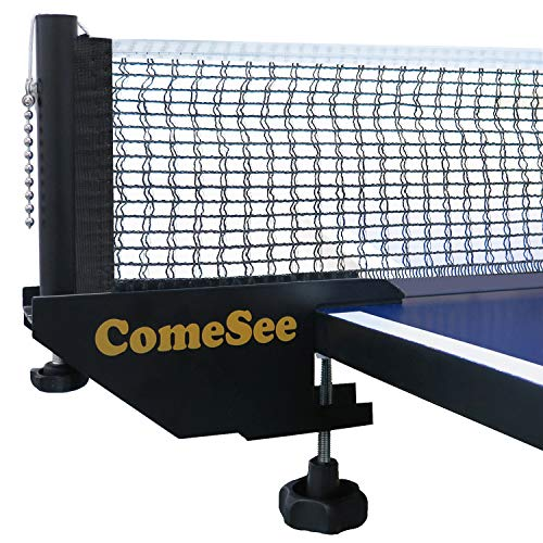 Strong Mesh Training Clamp Posts Portable Foldable Universal Table Tennis Net