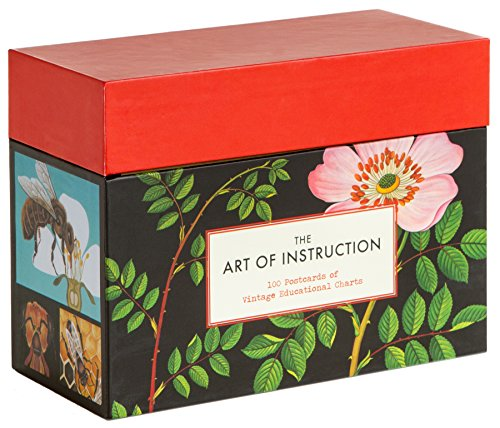 The Art of Instruction: 100 Postcards of Vintage Educational Charts (Floral Art Postcards, Botanical Cards)