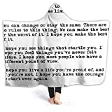 XCNGG Manta con Capucha Hooded Blanket Throw for What It's Worth Super Soft Sherpa Fleece Blanket Hood Poncho Cloak Cape
