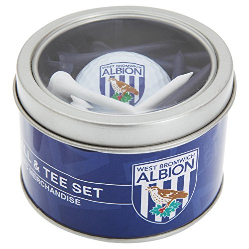 Check Out This West Bromwich Albion FC Official Soccer/Football Crest Golf Ball & Tee Gift Set