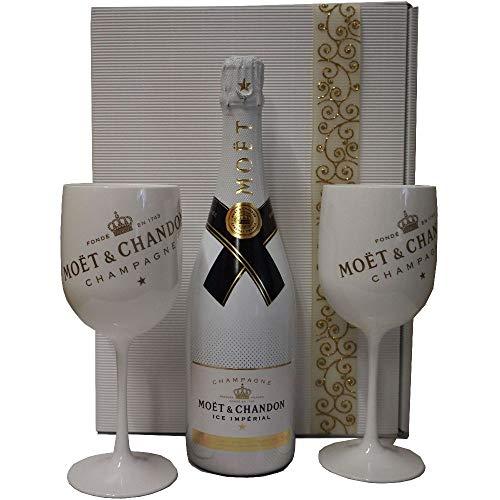 Moet & Chandon Ice Geschenk-Set mit Champagnerbechern
