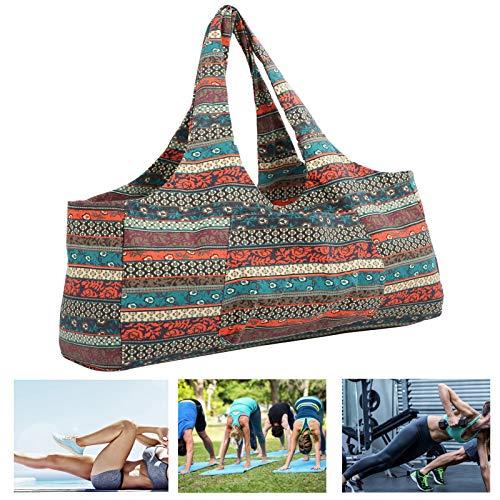 KUIDAMOS Bolso de Yoga, diseño de Bolsillo Lateral Bolso de Yoga Costura Fina Fácil de Llevar Usos múltiples Alta Capacidad para Gimnasio para Ropa