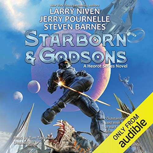Starborn and Godsons audiobook cover art