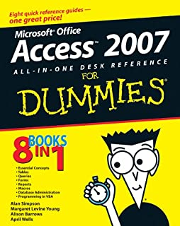 Access 2007 All-in-One Desk Reference For Dummies