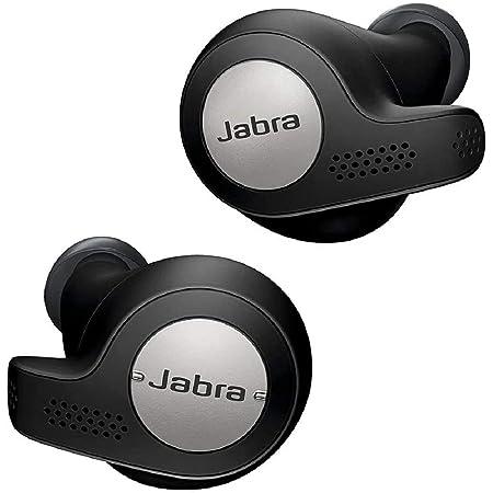 Jabra 完全ワイヤレスイヤホン Elite Active 65t チタンブラック Alexa対応 BT5.0 マイク付 防塵防水IP56 2台同時接続 2年保証 【国内正規品】