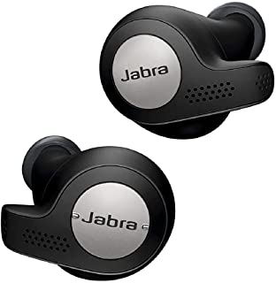 Jabra Elite Active 65t Earbuds - Passive Noise Cancelling Bluetooth Sport Earphones with Motion Sensors for Fitness Tracki...