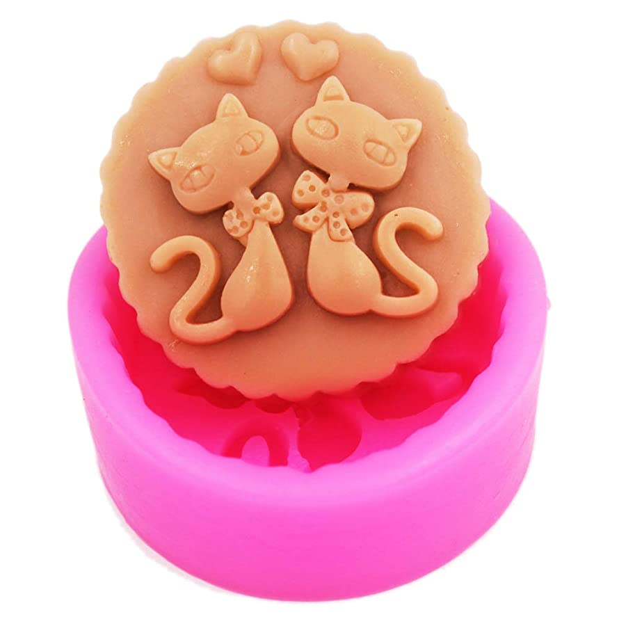 Cat lovers Soap Molds Craft Art Silicone Soap mold Craft Molds DIY Handmade soap molds