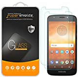 (2 Pack) Supershieldz for Motorola (Moto E5 Play) and Moto E Play (5th Gen) Tempered Glass Screen Protector, Anti Scratch, Bubble Free