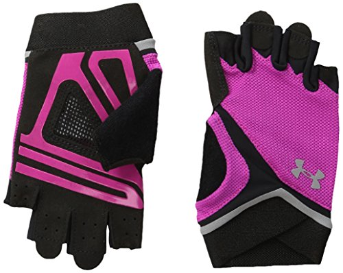 Under Armour Women's UA Flux Glove Tropic Pink (654)/Silver Large