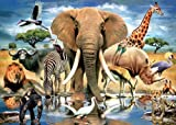 TDC Games World's Smallest Jigsaw Puzzle - African Oasis