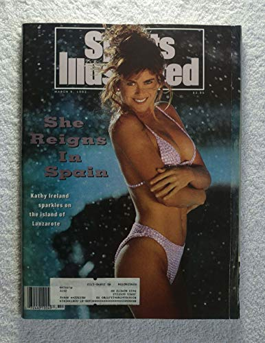 Swimsuit Issue - She Reigns in Spain - Kathy Ireland sparkles on the island of Lanzarote - Sports Illustrated - March 9, 1992 - SI