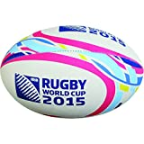 Gilbert Ballon de Rugby Supporter Coupe du Monde de Rugby 2015 Multicolore Multicolore Size 5