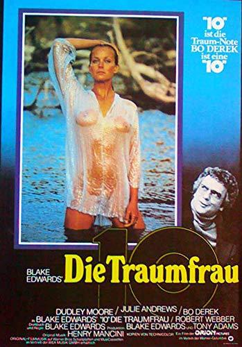 10 - Die Traumfrau Blake Edwards - Bo Derek - Filmposter A3 29x42cm gerollt