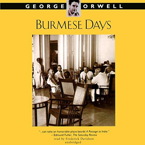 Burmese Days cover art