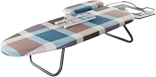 ChenCheng Mini Ironing Board Desktop Folding Iron Board Ironing Board Ironing Board Frame Small Household Products (Color : A, Size : 110X30X19CM)