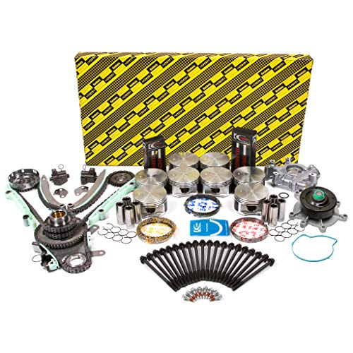 Evergreen OK5047LM/0/0/0 Fits 04-07 Dodge Dakota Durango RAM Jeep Grand Cherokee 4.7L SOHC Master Engine Rebuild Kit