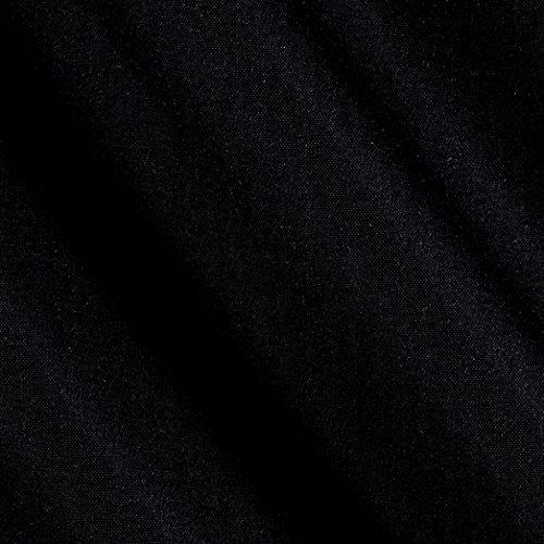 Hanes Serenity Blackout Drapery Black Fabric