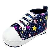 Zapatos para bebé, Culater Patucos de Colorido Niñas Niños 0~18 Meses (12~18...