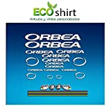 Ecoshirt 9K-ICI9-CJL3 Pegatinas Orbea R71 Vinilo Adesivi Decal Aufkleber Клей MTB Stickers Bike, Blanco