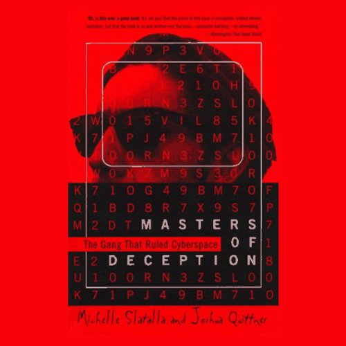 Masters of Deception audiobook cover art