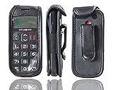 caseroxx Leather-Case with belt clip for TTFone Jupiter