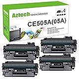 AZTECH Compatible Toner Cartridge Replacement for HP 05A CE505A P2035 Toner...