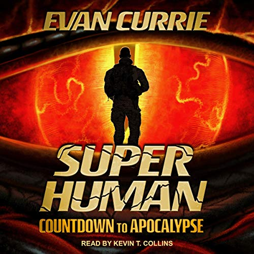 Superhuman: Countdown to Apocalypse audiobook cover art