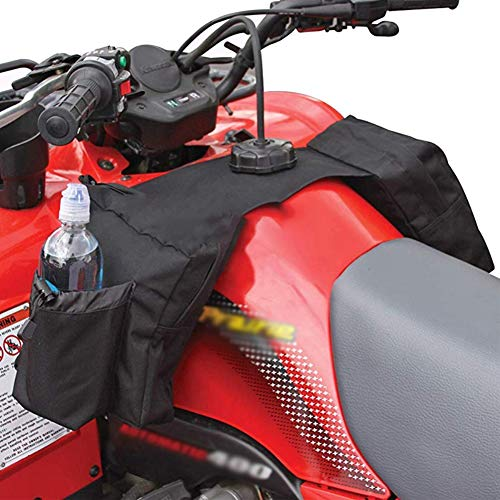 Coherny Snowmobile ATV Tank Saddlebags Durable Universal Motorcycles Oil Tank Bag Waterproof Front Accessories Storage Pack Luggage with Water/Drink Pocket