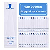 100 Pack Digital Thermometer Probe Covers - Disposable Universal Electronic Oral Rectal Thermometer Covers Shipped by Amazon